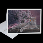 Lilac Beauty Greeting Card
