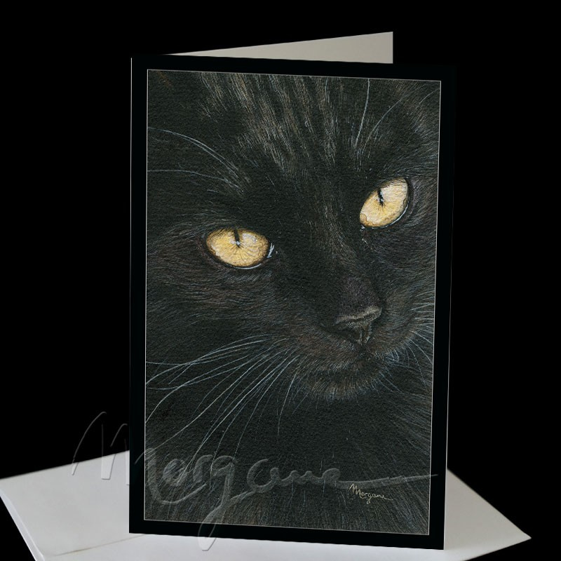 Midnight Greeting Card